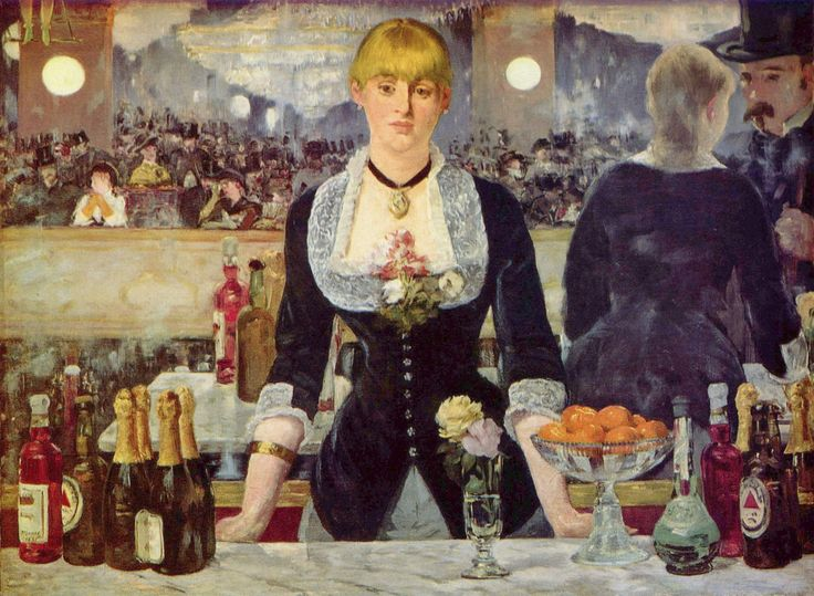 Bar at the Folies Bergere EDOUARD MANET 1882