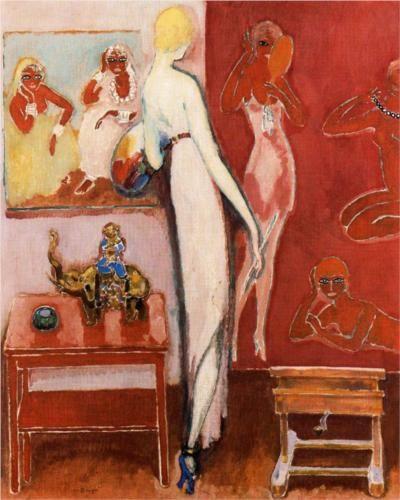 Dans les Folies Bergères - Kees van Dongen 1914