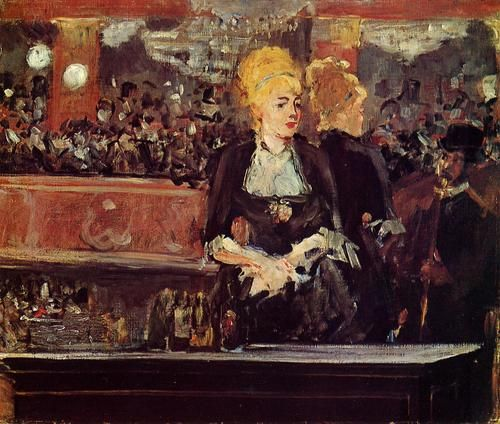 "Edouard Manet, Study for ""Bar at the Folies-Bergere,"" c. 1882"