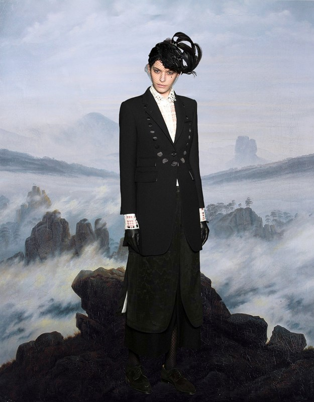 Thom Browne A W15 x Caspar David Friedrich